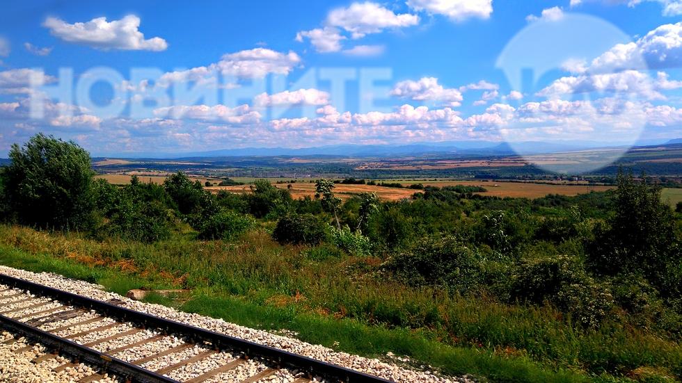 Поглед от влака Варна-София