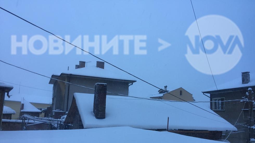 Снежна обстановка в Горна Оряховица