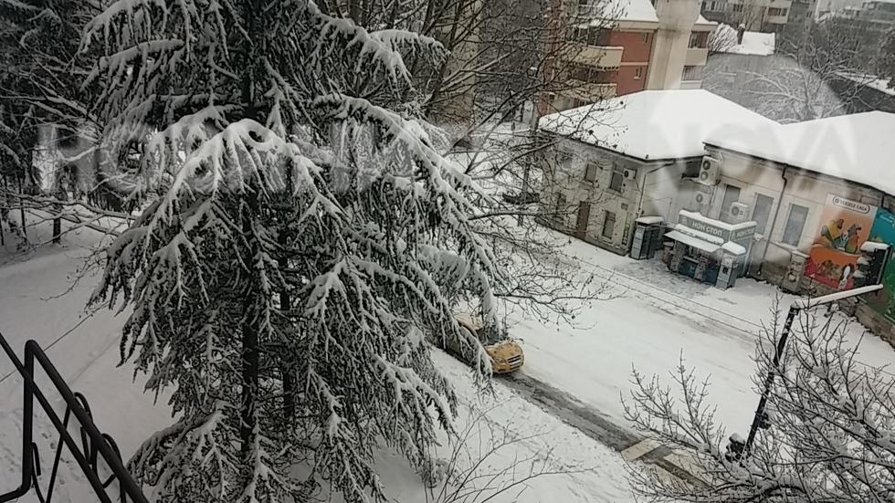 Непочистени улици в Русе