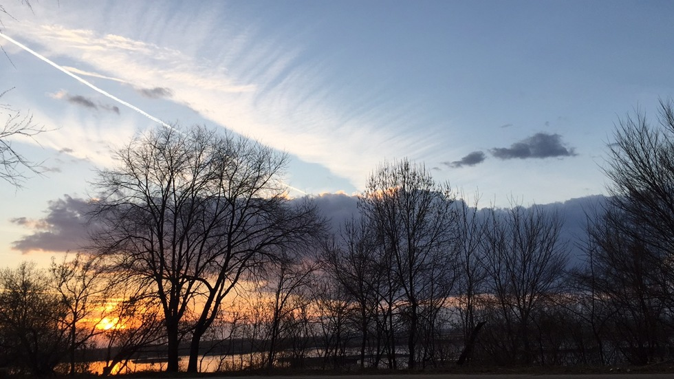 Залезът над река Дунав