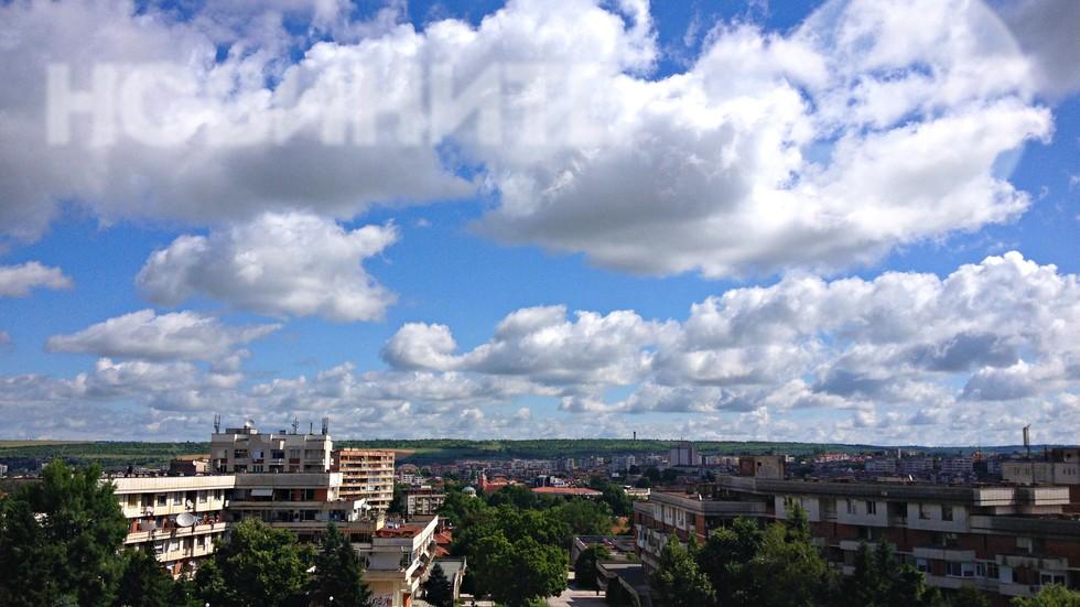 Красивото небе над Плевен
