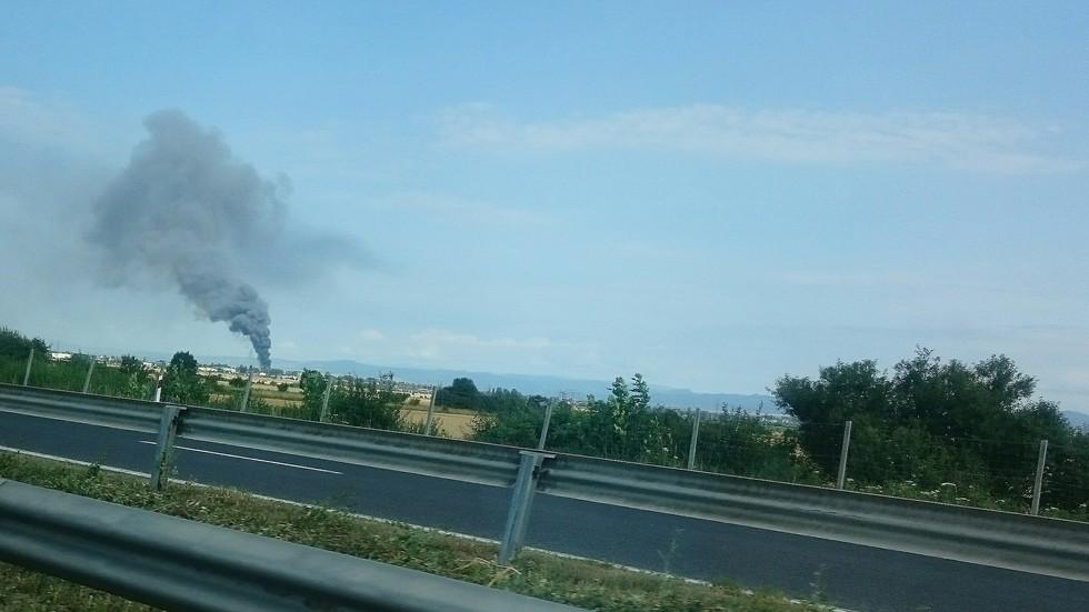Пожар в Казичене