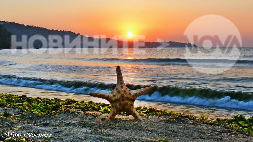 Един вълшебен морски августовски изгрев