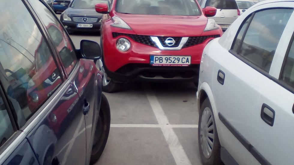 Безобразно паркиране