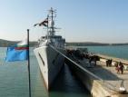 """Екипажът на """"Дръзки"""" в очакване на операцията в Либия"""