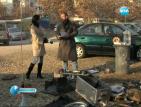 Германец заживя на палатка в центъра на Благоевград