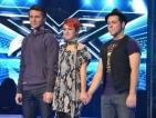 """Александра, Богомил и Рафи са тримата финалисти в """"X Factor"""""""