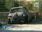 Мъж изгоря в колата си след взрив
