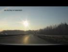 Вижте как пада метеоритът в Челябинск