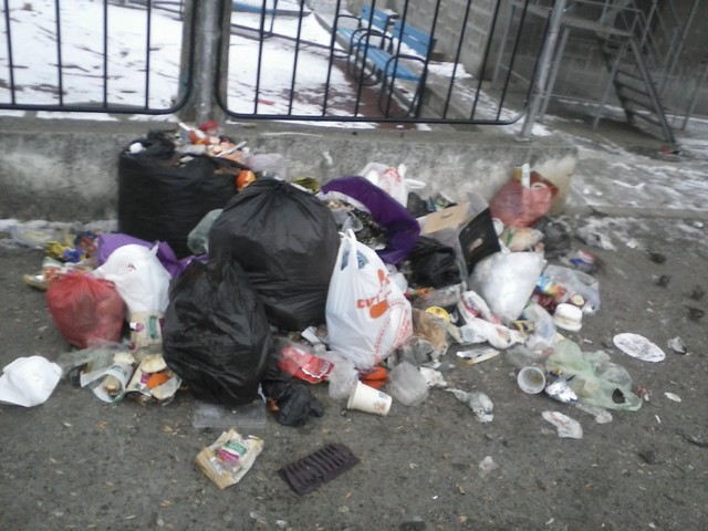 Как си хвърлят боклука в Стара Загора?