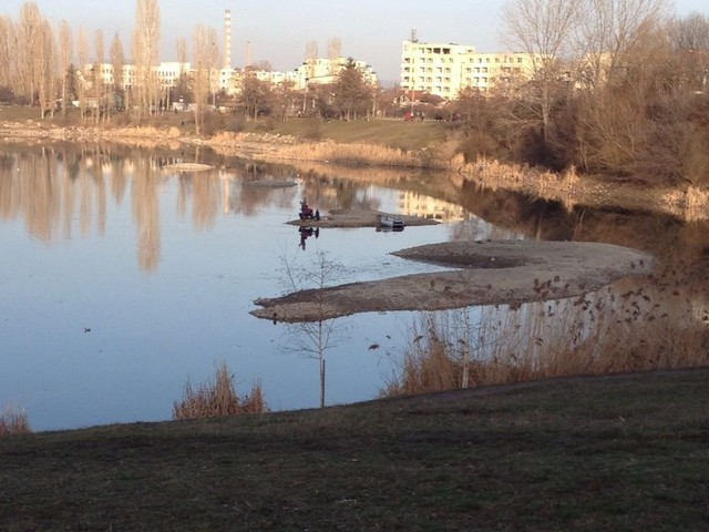 Безводие в езерото