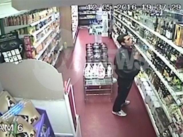 """""""Дръжте крадеца"""": Кражба на вино в магазин"""