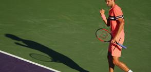 Гришо сломи Колшрайбер, отива на четвъртфинали в Монте Карло