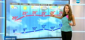 Прогноза за времето (21.04.2018 - обедна)