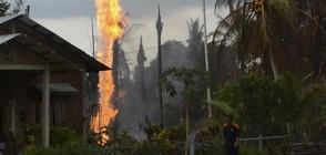 Най-малко 10 жертви при пожар в петролен кладенец в Индонезия (ВИДЕО)