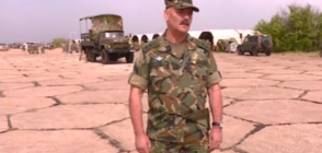 Говори командирът на военния парад (ВИДЕО)