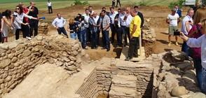 """Край на археологическите проучвания на """"Скаптопара"""""""
