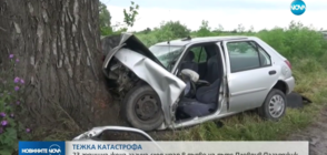 23-годишна жена загина след удар в дърво на пътя Пловдив-Пазарджик