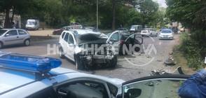 Две коли се удариха в София, има ранени (ВИДЕО+СНИМКИ)