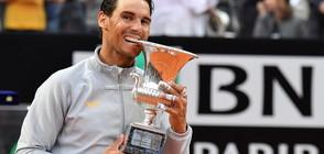 Надал официално измести Федерер от върха в тениса