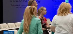 НЕБИВАЛ ИНТЕРЕС КЪМ НДК: 2000 души разгледаха креслата на Меркел и другите евролидери