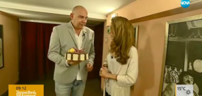 """Денят на..."": Калин Сърменов празнува рожден ден с Никол Станкулова (ВИДЕО)"