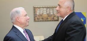 """Борисов постави казуса """"Желяз Андреев"""" пред министъра на правосъдието и главен прокурор на САЩ (СНИМКИ)"""
