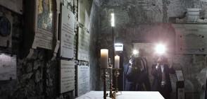 Борисов и Заев за първи път заедно на гроба на Св. Кирил в Рим (ВИДЕО)