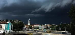 Мощна буря удари Пловдив и региона (ВИДЕО)