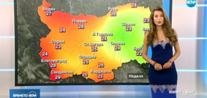 Прогноза за времето (27.05.2018 - обедна)