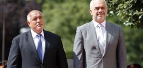 Борисов и албанският премиер обсъдиха бъдещето на Западните Балкани