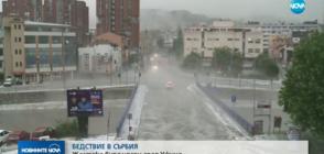 БЕДСТВИЕ В СЪРБИЯ: 10-минутна буря почти потопи град Ужице
