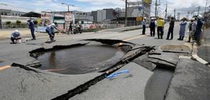 6,1 по Рихтер удари Япония, има загинали (ВИДЕО+СНИМКИ)