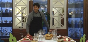 """Стегнато мъжко меню с Генчо Генчев в """"Черешката на тортата"""""""