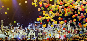 Андре Рийо - Маестрото и неговият вълшебен спектакъл в София (ВИДЕО+СНИМКИ)