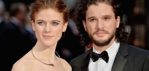 """Любовници от """"Игра на тронове"""" сключват брак в живота (СНИМКИ)"""