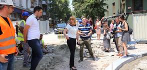 Махат контейнерите в центъра на София, боклукът отива под земята (СНИМКИ)