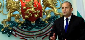 Президентът подписа указа за освобождаването на главния секретар на МВР