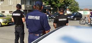 """АКЦИЯ """"РЕСПЕКТ"""": Полиция и жандармерия в Благоевград (ВИДЕО)"""