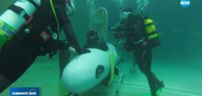 Състезание с подводници на педали в Англия (ВИДЕО)