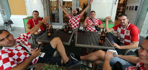Франция и Хърватия в очакване на големия финал на Световното (ВИДЕО)