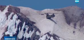 ОПАСНА ОПЕРАЦИЯ В ПЛАНИНАТА НА ОРЕГОН: Хеликоптер спасява турист