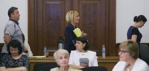 СКАНДАЛ: Изгониха Мая Манолова от заседание на Тристранката (ВИДЕО+СНИМКИ)