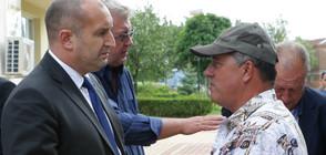 Президентът се срещна със собственици на избити животни (ВИДЕО+СНИМКИ)