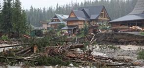 Жестоки бури с ураганни ветрове и порои връхлетяха Полша (ВИДЕО+СНИМКИ)
