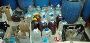 Хванаха близо 1 тон нелегален алкохол в гараж в Несебър