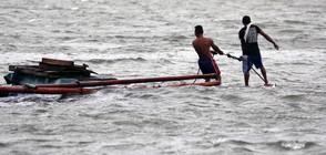 НАВОДНЕНИЕ В МАНИЛА: Три жертви и десетки хиляди евакуирани (ВИДЕО+СНИМКИ)