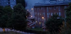 80 коли запалени за една нощ в Швеция (ВИДЕО)