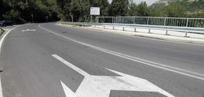 Борисов край Провадия: Хората да не тестват новия път с високи скорости (СНИМКИ)