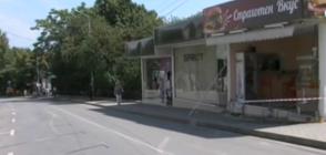 Демонстрация в Петрич след жестоката катастрофа с двама ранени